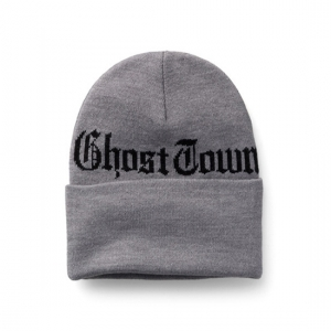 783be00875aaa 상품명   Ghost Town Beanie Grey Heather